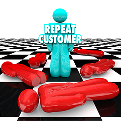 Repeat customers