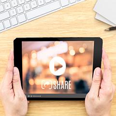 brand voice via branded videos.